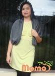 nursing shawl as loose cardigan