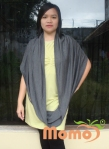 nursing shawl length turbular shawl