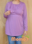 tunic sayuri lavender long sleeve opening