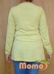 tunic sayuri lime long sleeve back