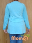 tunic sayuri oceanus long sleeve back