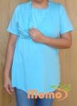 tunic sayuri oceanus short sleeve opening
