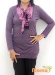 Baju Menyusui Tops Kumi Purple