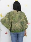 baju hamil menyusui tops kirara green back