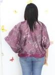 baju hamil menyusui tops kirara purple back
