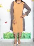 baju hamil menyusui dress inari mustard front