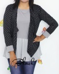 baju menyusui tops yukari black